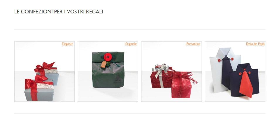 Scopri le nostre speciali confezioni regalo!