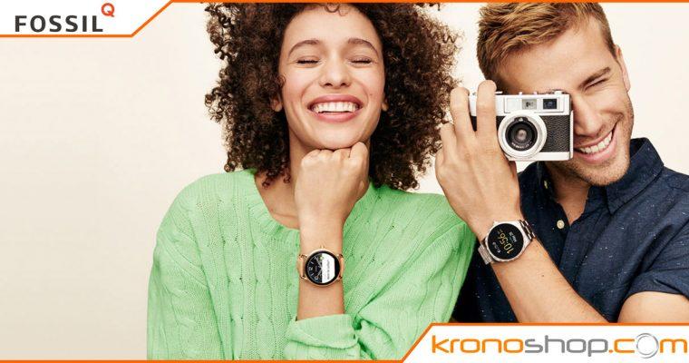Smartwatch FossilQ – Q-Mashal e Q-Wander; le nuove generazioni!