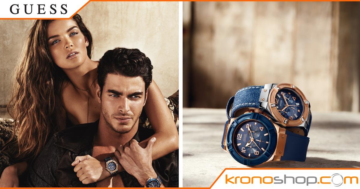 Fai risaltare la tua abbronzatura con la nuova collezione di orologi e gioielli Guess