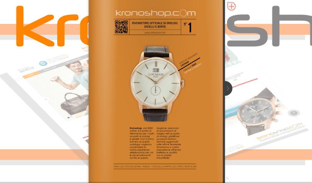 Finalmente, volume n°1 del catalogo di Kronoshop!