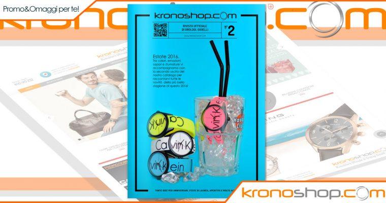 Online il Vol.2 del catalogo di Kronoshop – Scopri tutte le promozioni riservate!