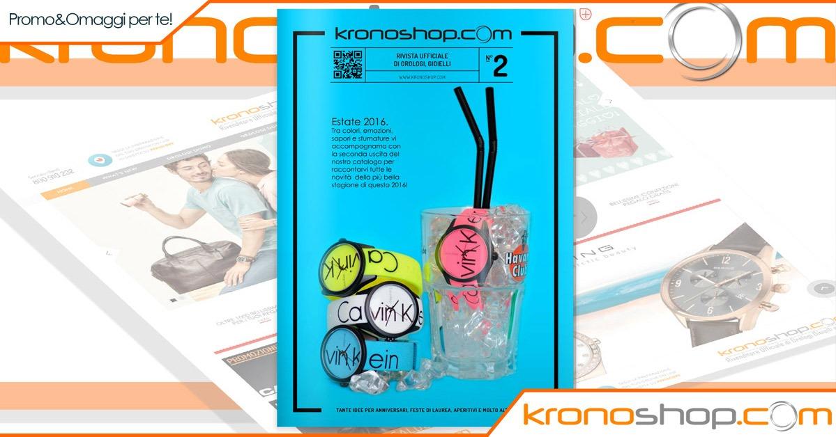 Scopri il secondo volume della rivista di Kronoshop!